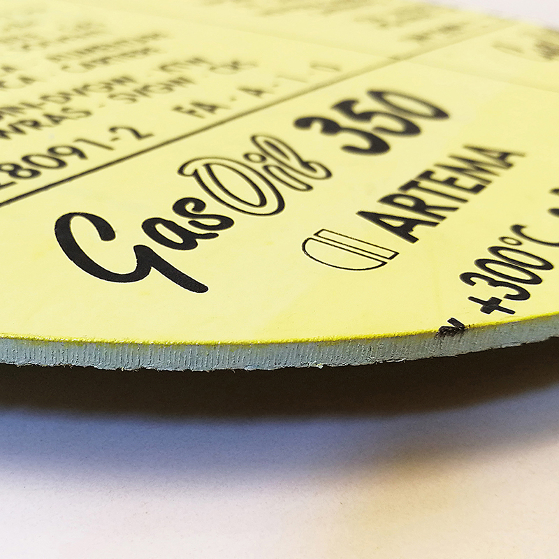 Die-cut aramid gaskets GASOIL 350®