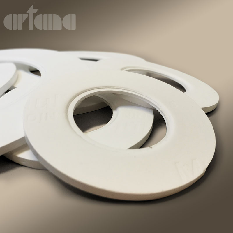 Die-cut pure multidirectional PTFE gaskets KWO® MULTITEX® S8
