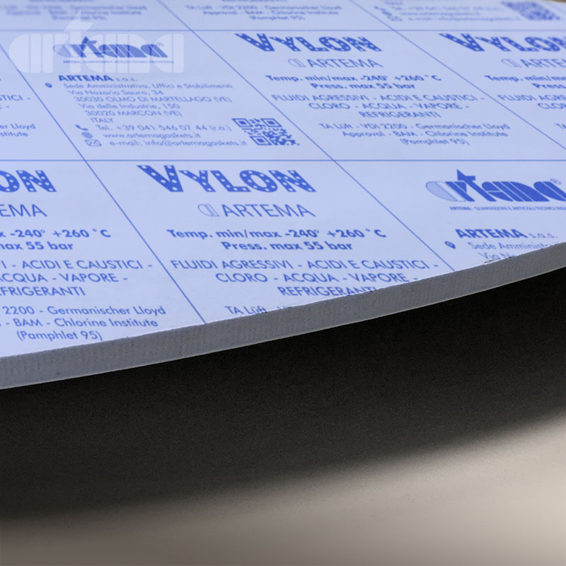 Die-cut modified PTFE gaskets VYLON®